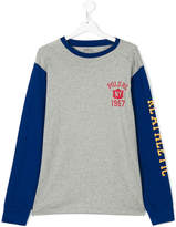 Ralph Lauren teen raglan T-shirt with print