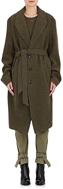 Nili Lotan Women's Patton Brushed Virgin Wool Belted Coat
