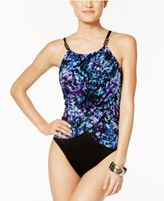 Magicsuit Chasing Butterflies Underwire Tummy-Control One-Piece Swimsuit