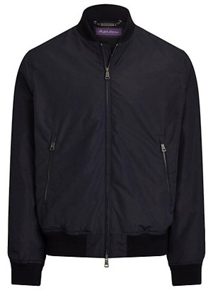 Ralph Lauren Purple Label Drayton Varsity Bomber Jacket