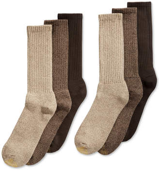 Gold Toe Men 6-Pk. Harrington Extended Crew Socks