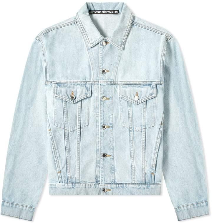 850b52205bc726 Mens Denim Bleached Jacket - ShopStyle