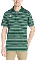 Russell Athletic Men's Striped Jersey Golf Polo