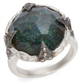 Armenta Women's New World Black Opal Crivelli Ring