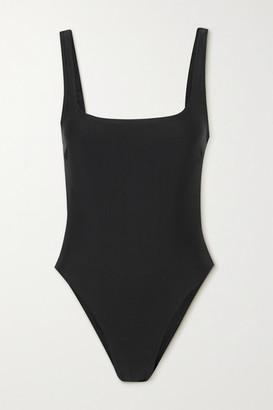 Matteau Net Sustain Nineties Stretch-repreve Swimsuit - Black