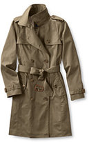 Classic Women's Tall Trench Coat-Khaki