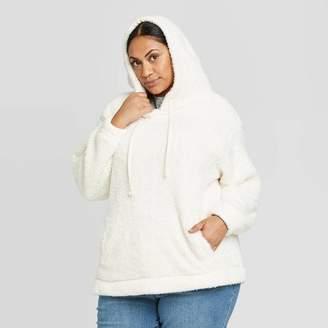 Universal Thread Women's Crewneck Sherpa Sweatshirt Hoodie (X-Small – Plus Size 4X) - Universal ThreadTM