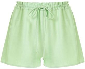 Cult Gaia Sissi drawstring shorts