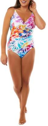 Seaspray Paradise Crossover Strap Swimsuit
