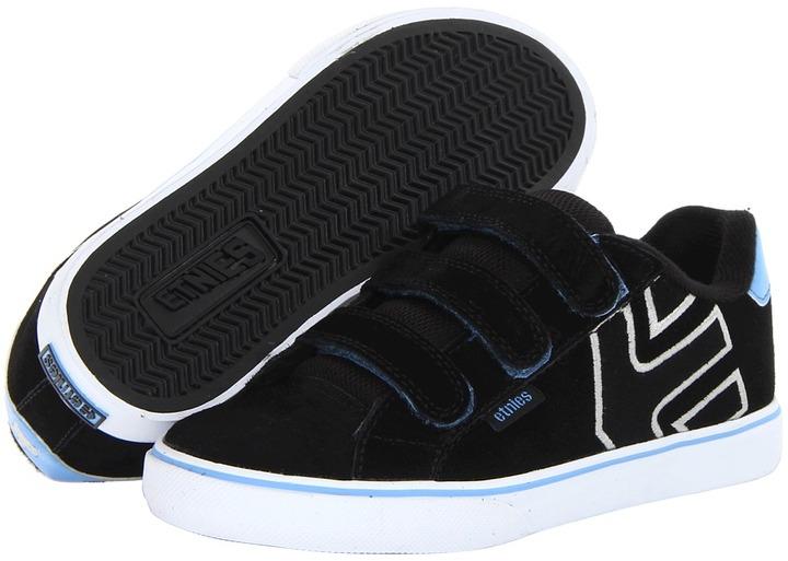 Etnies Fader Vulc Strap Autism Speaks (Toddler/Youth) (Black/Blue/White) - Footwear