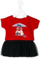 Lapin House - tutu short dress - kids - Silk/Cotton/Polyamide/Spandex/Elastane - 6 mth