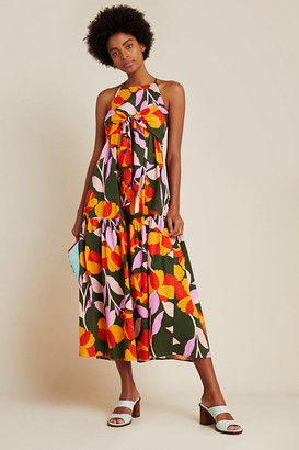 Corey Lynn Calter Delphine Tiered Maxi Dress By in Assorted Size XS