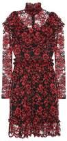 Ganni Exclusive to mytheresa.com – Flynn ruffled lace dress