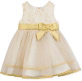 Rare Editions Ivory & Gold Ballerina Dress, Toddler & Little Girls (2T-6X)