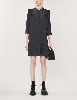 Zadig & Voltaire Rygg satin-crepe mini dress