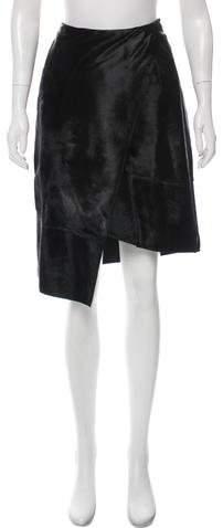 J. Mendel Fur Knee-Length Skirt