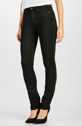 Paige Transcend - Hoxton High Waist Straight Leg Jeans