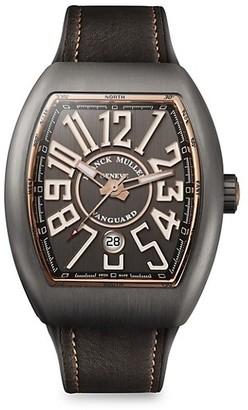 Franck Muller Vanguard Titanium Rose Gold Watch