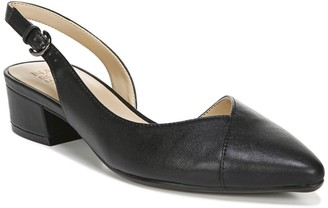 Naturalizer Frisco Pointed Toe Block Heel - Wide Width Available