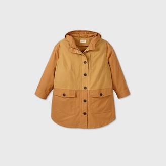 Universal Thread Women's Plus Size Mid Length Colorblock Utility Parka Jacket - Universal ThreadTM