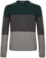 Dkny Rib Crew Neck Jumper