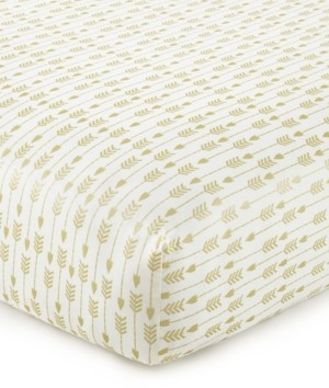 Levtex Baby Little Feather Medallion Crib Fitted Sheet Bedding