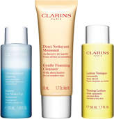 Clarins Cleansing Collection for Dry to Sensitive Skin