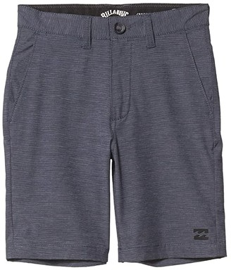 Billabong Kids Crossfire Shorts (Big Kids) (Navy) Boy's Shorts