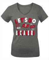 5th & Ocean Girls' Tampa Bay Buccaneers Let's Go T-Shirt