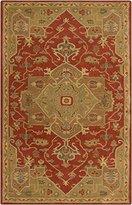 Surya CAE1147-58 Hand Tufted 100-Percent Wool Classic Area Rug, 5-Feet by 8-Feet