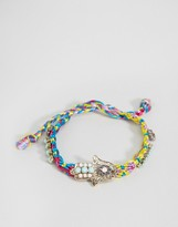 Asos Limited Edition Jewel Hamsa Friendship Bracelet
