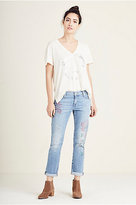 True Religion Liv Slim Boyfriend Printed Womens Jean