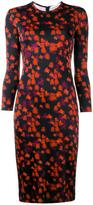 Givenchy abstract floral print dress - women - Silk/Spandex/Elastane/Acetate/Viscose - 36