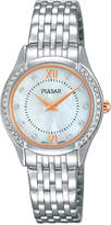 Pulsar Women's Stainless Steel Bracelet Watch 28mm PM2235
