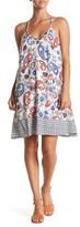 Dex Print Crisscross Dress