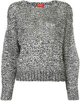 TOMORROWLAND two-tone knitted jumper