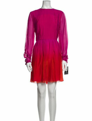 Matthew Williamson Silk Mini Dress w/ Tags Pink