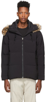 The North Face Black Series Black Down Urban N2 Split Hood Jacket