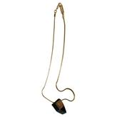 Isabel Marant Gold Metal Necklace