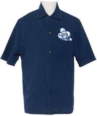 Louis Vuitton Navy Cotton Shirts