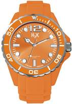 Haurex Italy Men's SO382UO1 Reef Luminous Water Resistant Bright Soft Rubber Watch