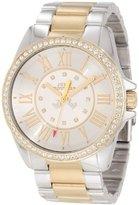 Juicy Couture Women's 1901010 Stella Two Tone Bracelet Watch