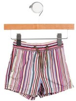 Paul Smith Boys' Striped Swim Trunks