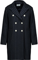 Sandro Gaby Striped Wool-Blend Coat