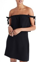 Madewell Women's Silk Off The Shoulder Dress