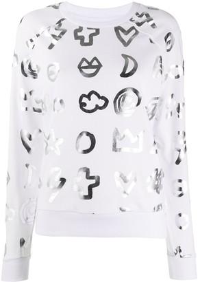Rossignol x JCC Icon print sweatshirt