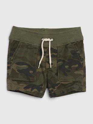 Gap Baby Hunter Camo Pull-On Shorts