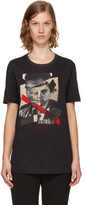 Neil Barrett Black freedom Fighters Hybrid T-shirt
