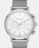 Chaps Dunham Chrono Silver/Steel