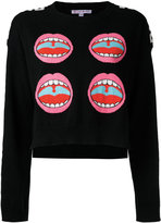 Olympia Le-Tan Word Image jumper - women - Cotton - M